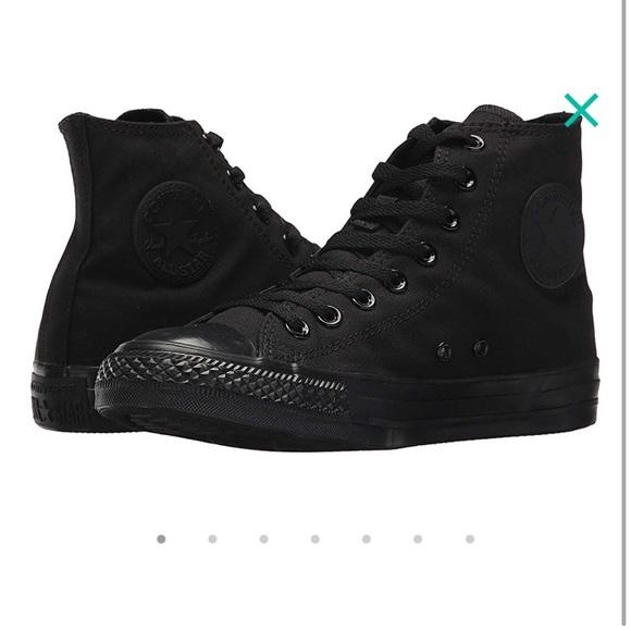 f26ab0ef62f6 Converse Shoes - EUC Converse Chuck Taylor All Star black M5 W7